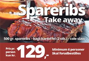Spareribs take away