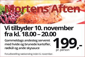 Mortens aften 10. november