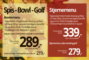 Spis – Bowl – Golf