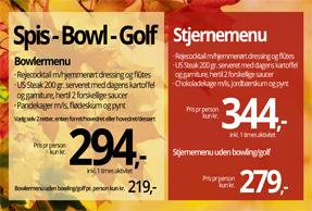 Spis – Bowl – Golf