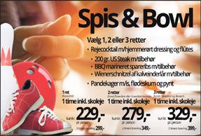 Spis & Bowl – 1-2-3 retter