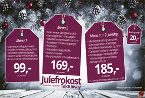 Take away julefrokost