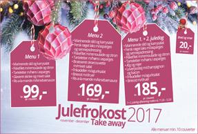 Take away julefrokost