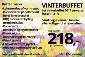 Vinterbuffet