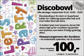 Discobowl alle søndag i september