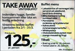 Take away vinterbuffet
