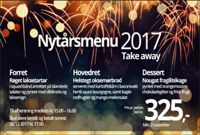 Take away nytår 2017