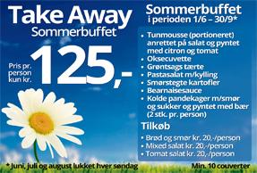 Take away sommerbuffet